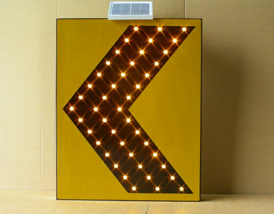 Solar Traffic Sign For Linear Guide Led Solar Traffic