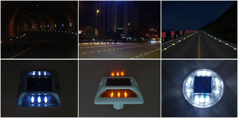 New Type Solar Road Studs First Appear In Wuhan