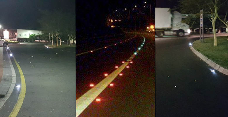 Application of Solar Road Stud in Expressways
