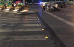Intelligent Road Studs for Pedestrians are Improved in Shenzhen